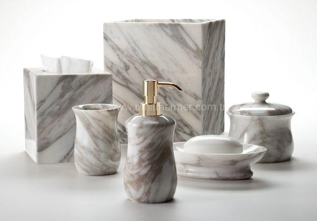 Bathroom accessories set online - L 252 Ks Banyo Aksesuarlar
